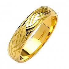 Irish Wedding Rings by Livia Gold Wedding Ring Irish Wedding 10k Gold Fado Jewelry
