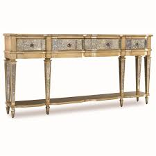 Silver Console Table Classic Skinny Gold And Silver Console Table With Storage Drawers
