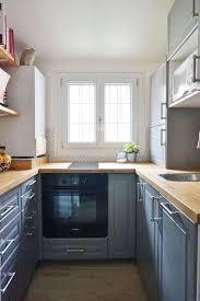 cuisine fonctionnelle petites cuisines de 4 m2 plans d aménagement côté maison