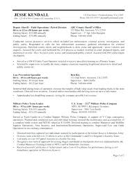 military resume examples and samples cover letter military resume