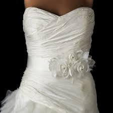 wedding dress sashes floral bridal sash and ribbon belt larenna