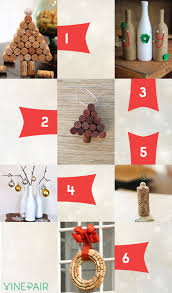 6 wine crafts for christmas vinepair
