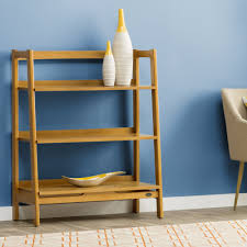 furniture home easmor leaning bookcase design modern 2017 macy u0027s