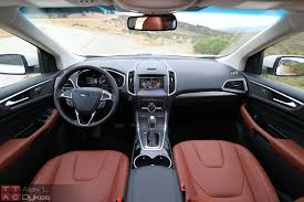 Ford Escape Dashboard - 2015 ford edge interior dashboard the truth about cars