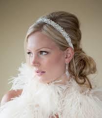 bridal headband bridal headband bridal ribbon headband wedding headpiece ribbon