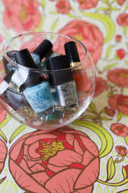 pretty ways to store and display nail polish the pioneer woman