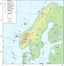 Scandinavia Map Stress Change Over Short Geological Time The Case Of Scandinavia