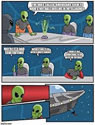 Meme Generator Alien - the shocking truth that aliens discovered about america image