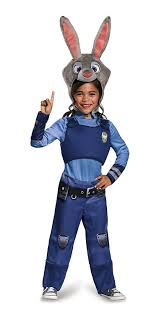 jaguar costume amazon com judy hopps classic zootopia disney costume small 4 6x