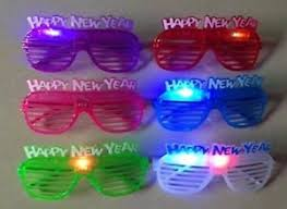 party sunglasses with lights 12 pk light up happy new year party sunglasses glasses glowing eyes