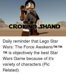 Lego Star Wars Meme - 25 best memes about legos star wars legos star wars memes