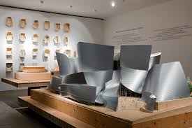 Vitra Design Museum Interior Models For Walt Disney Concert Hall Los Angeles At The Vitra