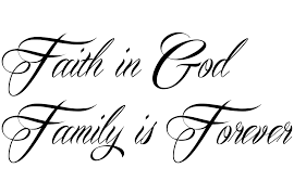 24 tattoos below is any related family faith god it means faith