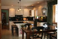 Kitchen Design Black Appliances Cabinet Colors For Dark Appliances