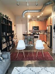creative do it yourself design for studio loft apartment in indiana