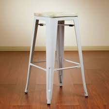 Wood And Metal Bar Stool French Bistro Bar Stools Foter