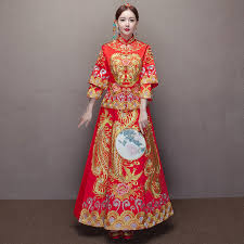 robe mariã e orientale traditionnelle femmes broderie cheongsam chinois robes