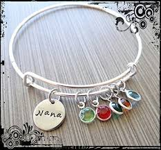 bracelet gift images Nana grandma mom wire bangle bracelet gift for jpg
