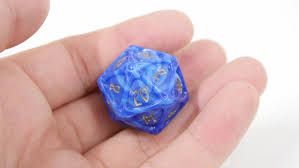 a dice piece set like a magical item that appears in the fantasy