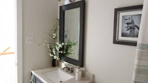 How To Make A Bathroom Mirror Frame How To Make A Diy Bathroom Mirror Frame Angie S List