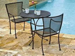 Wrought Iron Patio Bistro Set Commercial Contract Outdoor Bistro Sets Patiocontract