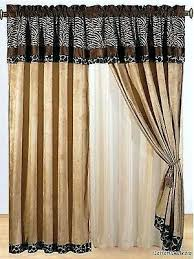 Leopard Curtains Animal Print Curtains U2013 Teawing Co