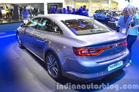 renault talisman 2016 renault talisman rear three quarter at the iaa 2015 indian