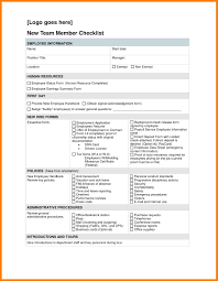 7 new hire checklist template lease template