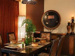 tropical dining room design home decorating tips