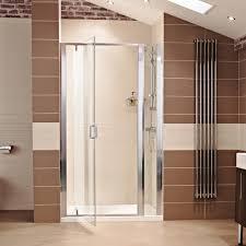 lumin8 pivot door shower enclosure roman showers