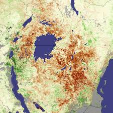 Map East Africa by Drought In East Africa Natural Hazards
