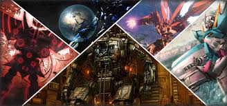 31 epic wallpapers featuring robots mechs and similar badassery