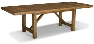 Trestle Dining Room Table by Classic Old And Vintage Diy Long Solid Wood Trestle Dining Table