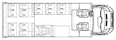 school bus floor plan low floor bus
