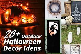 outdoor halloween décor ideas madness u0026 method