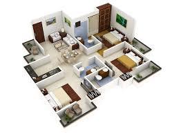 tag for small house 3d plan si deseas que la cocina sea cerrada