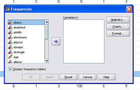 How To Make A Relative Frequency Table Using Spss And Pasw Frequencies Wikibooks Open Books For An