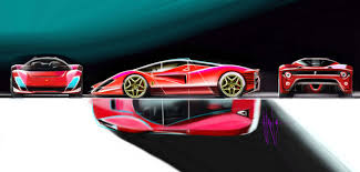 ferrari enzo sketch ferrari p4 5 sketch pinterest ferrari automotive design and