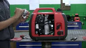 how to clean the carburetor on a honda generator youtube