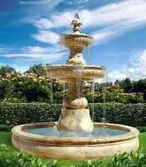 garden water fountains building an outdoor water fountain adds