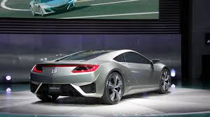 Acura Sports Car Price Acura Nsx Concept All Kinds Of Hybrid Goodness Wired