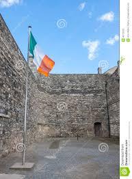Flag Of Dublin Ireland Irish Flag In Kilmainham Gaol In Dublin Stock Image Image 46715223