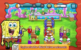 jeux de spongebob cuisine spongebob diner dash applications android sur play