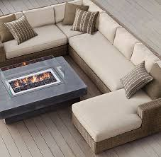 Outdoor Furniture Sectional Sofa Best 25 Outdoor Sectionals Ideas On Pinterest Diy Patio