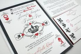 wedding invitations las vegas las vegas casino card royal king and of hearts