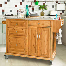 kitchen islands u0026 carts with flat pack ebay