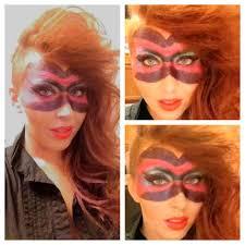 long hair faux hawk side shaved masquerade make up stephanie eiland san antonio texas hair make blair 39 s