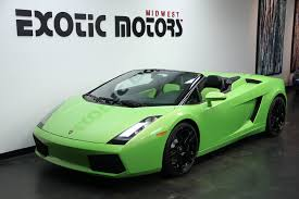 lamborghini gallardo 2008 used lamborghini gallardo 2dr convertible spyder at exotic