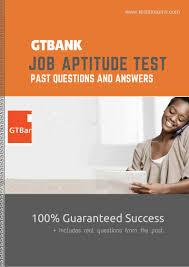 gtbank job aptitude test past questions pdf download u2013 eduregard