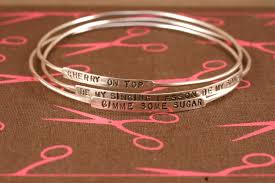 personalized bangles collection of personalized bangles 2014 weddings